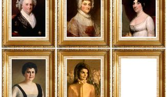A selection of first ladies      The Washington Times