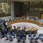 At the United Nations on Wednesday, the Security Council voted to further tighten sanctions against North Korea in response to its fifth and largest nuclear test yet. (Associated Press)