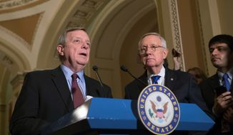 Senate Minority Whip Richard J. Durbin, Illinois Democrat, said he sees strong emotions from both sides of the aisle in favor of helping Dreamers. (Associated Press)