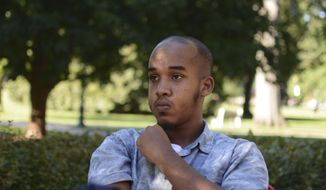 This August 2016 file photo provided by TheLantern.com shows Abdul Razak Ali Artan in Columbus, Ohio. Authorities identified Artan as the Somali-born Ohio State University student who plowed his car into a group of pedestrians on campus and then got out and began stabbing people with a knife Monday, Nov. 28, 2016, before he was shot to death by an officer. (Kevin Stankiewicz/TheLantern.com via AP, File)