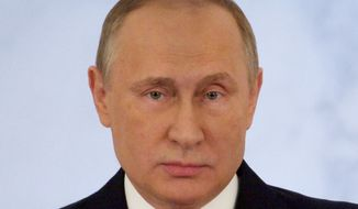 Russian President Vladimir Putin. (AP Photo/Pavel Golovkin)