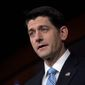 House Speaker Paul D. Ryan. (Associated Press) ** FILE **