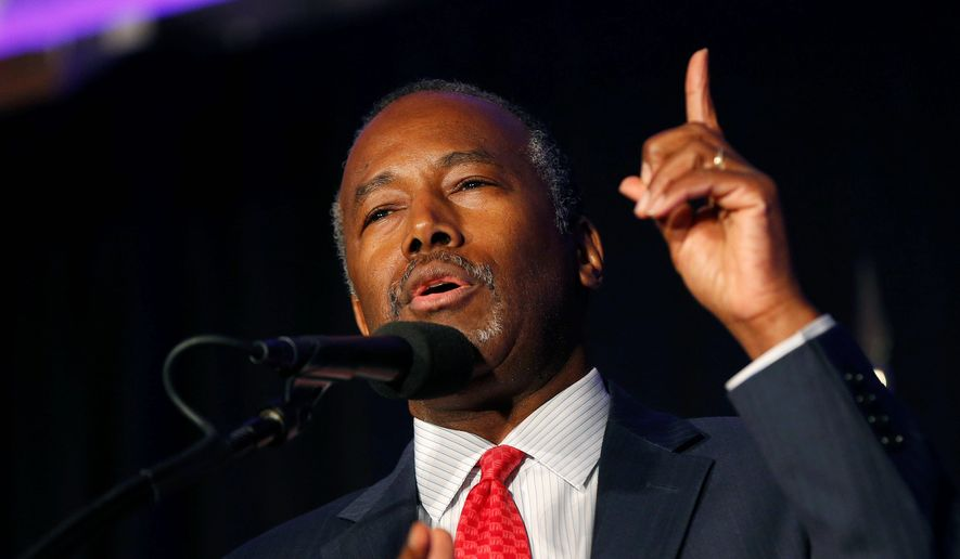Despite no relevant experience, President-elect Donald Trump nominated Ben Carson to lead the Department of Housing and Urban Development. (Associated Press)