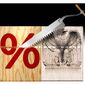 Illustration on matching tax cuts with cuts in government spending by Alexander Hunter/The Washington Times