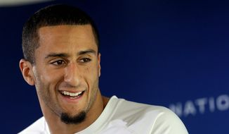 Colin Kaepernick (Associated Press) ** FILE **