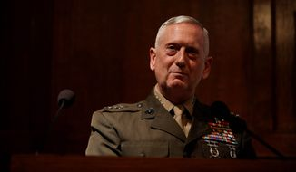 Gen. James N. Mattis,  President-elect Donald Trump's nominee for defense secretary. (Associated Press photographs)