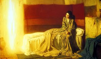 """The Annunciation,"" by Henry Ossawa Tanner"