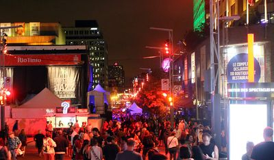 Montreal Jazz Festival (Photograph by Jacquie Kubin / Special to The Washington Times)