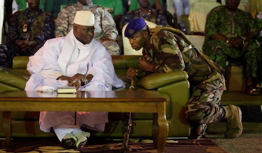 Gambian President Yahya Jammeh and his security forces have blocked access to the electoral commission office, which insists the Dec. 1 vote against him was fair and accurate. West African leaders are urging a peaceful transfer of power. (Associated Press)