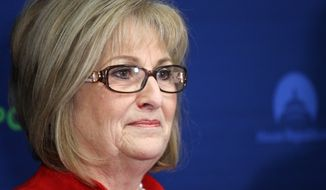 """""""Women deserve better than Planned Parenthood,"""" said Rep. Diane Black, Tennessee Republican, """"and I look forward to working with the Trump administration to stop the flow of your tax dollars to this abortion giant."""" (Associated Press)"""