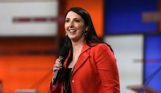 Ronna Romney McDaniel, the new chairwoman of the Republican National Committee. ** FILE **