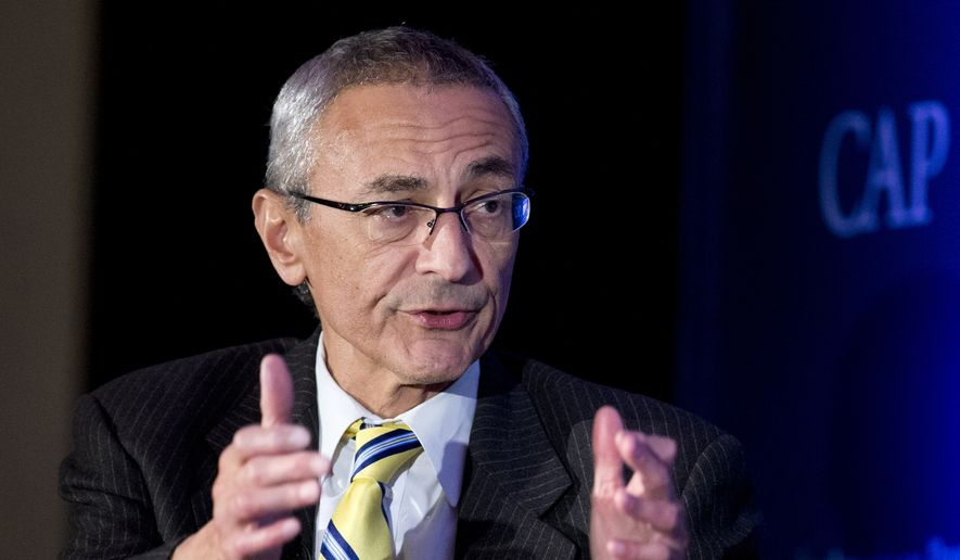 Hillary Clinton campaign chairman John Podesta said the FBI did not contact him about the hack into his personal email account until after WikiLeaks began publishing his emails by the thousands on Oct. 7. (Associated Press)