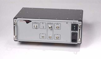 A Harris Corporation Stingray device, shown in a trademark application, via Wikimedia Commons. A Dec. 19 House Committee on Government Oversight revealed that federal agencies own 400 such cell-site simulators, used in criminal investigations to zero in on the location of cell phones owned by suspects under investigation.