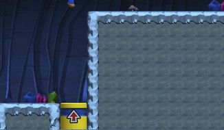 "This image provided by Nintendo shows a screenshot from the game ""Super Mario Run,"" which the gaming giant released for the iPhone on Dec. 15, 2016. The game's $10 price tag, as well as a requirement for players to be constantly connected to the internet while playing, could be enough to turn off all but the most hardcore fans. That said, Nintendo has done a good job translating Mario's classic, side-scrolling world to a mobile screen. (Nintendo via AP)"