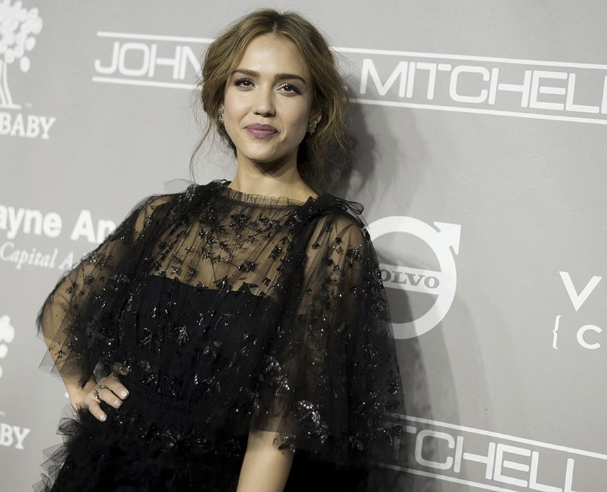 Jessica Alba Into the Blue, Mechanic: Resurrection, Good Luck Chuck, The Sleeping Dictionary, Fantastic Four  (AP Photo)