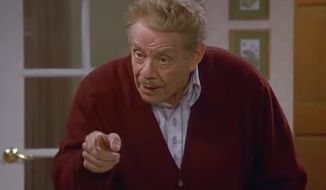 "Festivus is a secular holiday concocted by George Costanza's father Frank, played by Jerry Stiller, in the 1997 Christmas episode of the hit sitcom ""Seinfeld."" (Seinfeld)"