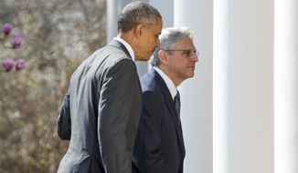 Although Senate Republicans blocked President Obama's nomination of Judge Merrick Garland for the Supreme Court, the circuit courts handle much larger caseloads overall. (Associated Press)