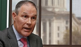 Republicans have begun exercising their influence over the incoming president and his pick to lead the Environmental Protection Agency, Oklahoma Attorney General Scott Pruitt, who has built a political career by battling the very agency he is about to lead. (Associated Press)