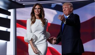 President-elect Donald Trump and his wife Melania may bring back a certain fiscal elegance to the White House, the likes of which might not have been seen since the days of former wealthy chief executives Ronald Reagan and John F. Kennedy. (Associated Press)