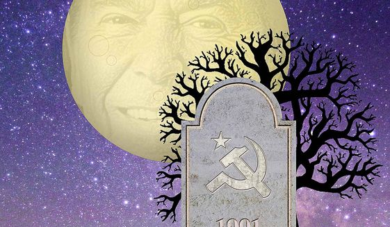The Death of the Soviet Union Illustration by Greg Groesch/The Washington Times