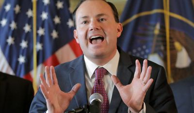 Sen. Mike Lee, a libertarian-leading Republican, was at odds with Donald Trump during the campaign, but the party hopes they can work together.