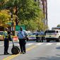 Washington Metropolitan Police have had to respond to fewer scenes of violence this year, with a 17 percent decline in the homicide rate over last year. Still, the city's reported 134 homicides as of Thursday are part of a larger increasing trend. (Associated Press)