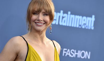 Bryce Dallas Howard was born in Los Angeles, California, to writer Cheryl Howard Crew and actor-director Ron Howard, on March 2, 1981 (AP Photo)