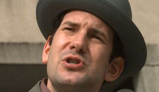 """""""Is the US government attacking DRUDGE REPORT?"""" Matt Drudge asked on Twitter, adding that there was """"VERY suspicious routing [and timing]."""" (Associated Press)"""