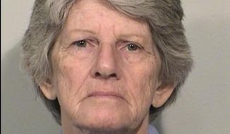 This Dec. 2, 2014 file photo provided by the California Department of Corrections and Rehabilitation shows Patricia Krenwinkel. Krenwinkel, a follower of cult killer Charles Manson, is again seeking parole 47 years after she helped kill actress Sharon Tate and six others in 1969. (California Department of Corrections and Rehabilitation via AP, File)