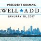 President Obama stages his farewell address on Jan. 10 in Chicago at McCormick Place, the nation's biggest convention center. (White house)