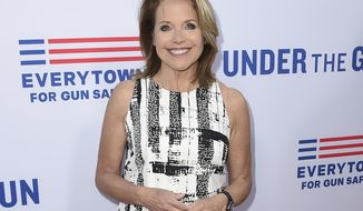 "FILE - In this May 3, 2016, file photo, Katie Couric attends the LA premiere of her documentary ""Under The Gun"" in Beverly Hills, Calif. Couric returned to the ""Today"" show Monday, Jan. 2, 2017, to co-anchor for the first time since she left the program in 2006. (Photo by Jordan Strauss/Invision/AP, File)"