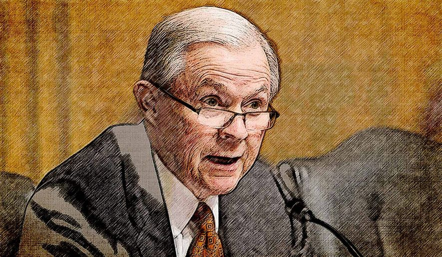 Attorney General Nominee Jeff Sessions Illustration by Greg Groesch/The Washington Times