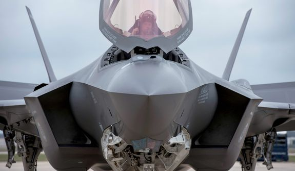 """""""The F-35 program and cost is out of control,"""" President-elect Donald Trump tweeted on Dec. 12. """"Billions of dollars can and will be saved on military (and other) purchases after January 20th."""" (Associated Press)"""
