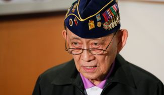 """This is already psychological warfare,"" said ex-Philippine President Fidel V. Ramos. (Associated Press)"