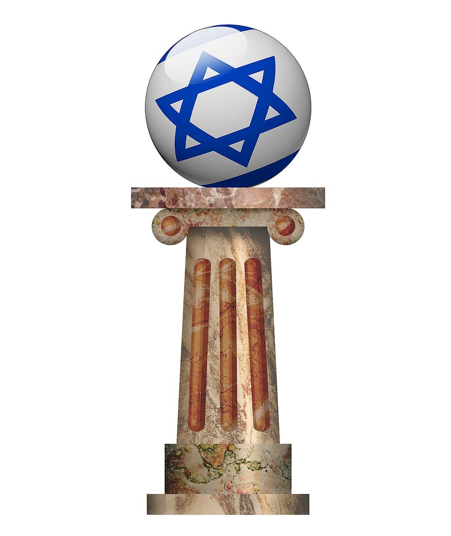 Envy of the Jewish State Illustration by Greg Groesch/The Washington Times