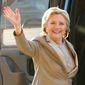 Former Democratic presidential candidate Hillary Clinton is being urged by some to run for mayor of New York. (Associated Press)