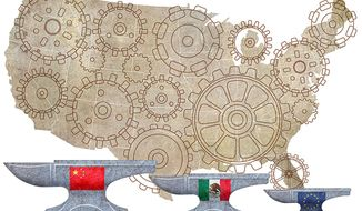 Adjustable Tax, AMerica Working Illustration by Greg Groesch/The Washington Times