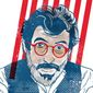 Illustration of Nat Hentoff by Linas Garsys/The Washington Times
