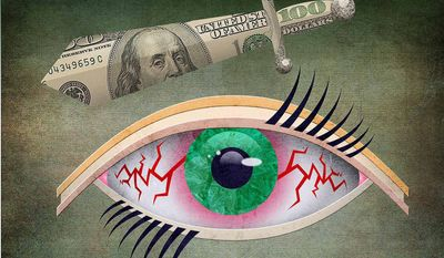 Crony Capitalism in Optometry Market Illustration by Greg Groesch/The Washington Time
