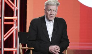"David Lynch attends the ""Twin Peaks"" panel at the Showtime portion of the 2017 Winter Television Critics Association press tour on Monday, Jan. 9, 2017, in Pasadena, Calif. (Photo by Richard Shotwell/Invision/AP)"