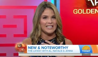 "Jenna Bush Hager gave a teary-eyed apology on ""Today"" Monday morning after she conflated the titles of two Golden Globe-nominated films featuring black casts. (Today)"