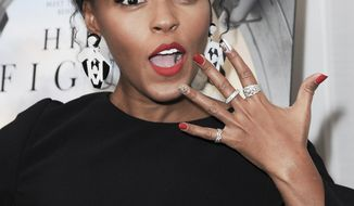 "Janelle Monae attends a special screening of ""Hidden Figures"" held at the London Hotel on Wednesday, Jan. 4, 2017, in West Hollywood, Calif. (Photo by Richard Shotwell/Invision/AP)"