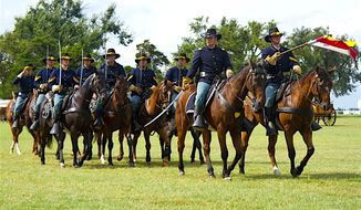 1st Cavalry Division Horse Cavalry Detachment of Fort Hood, Texas will be among the 8,000 participants in President-elect Donald Trump's inaugural parade on Jan. 20. (U.S. Army)
