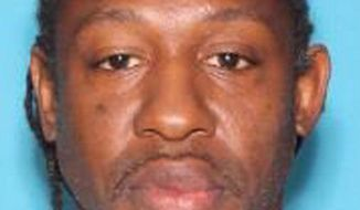 In this undated photo made available by the Orlando Police Department shows Markeith Loyd. Loyd is wanted for killing an Orlando police officer outside a Walmart in Orlando, Fla., Monday, Jan. 9, 2017. Loyd is also accused of murdering his pregnant ex-girlfriend last month. (Orlando Police Department via AP)