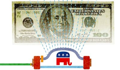 GOP Plan to Grow the Economy Illustration by Greg Groesch/The Washington Times