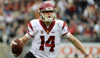 USC finished this season ranked third and has a quarterback in Sam Darnold who looks like a Heisman Trophy contender. (Associated Press)
