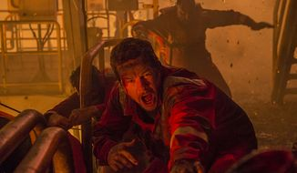 """Mark Wahlberg as chief electronics technician Mike Williams in 'Deepwater Horizon,"""" now available on 4K Ultra HD from Lionsgate Home Entertainment."""