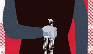 Music Industry Plays Hypocracy Illustration by Linas Garsys/The Washington Times