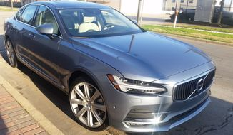 The 2017 Volvo S90 replaces the outgoing S80. (Photo: Rita Cook)