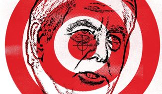 Political Target Illustration by Linas Garsys/The Washington Times
